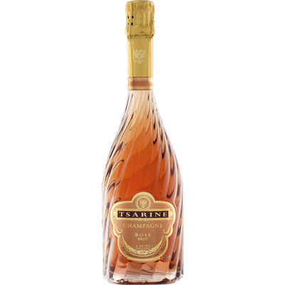 Champagne brut rosé AOC TSARINE, 75cl