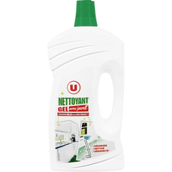 Nettoyant ménager gel avec javel U, flacon de 1l
