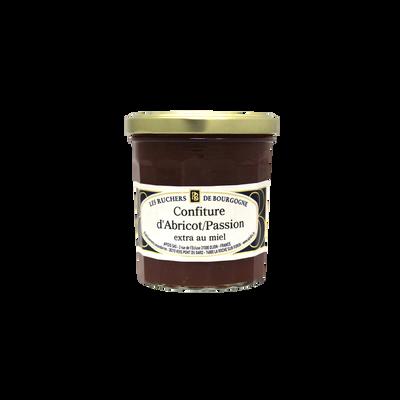 Confiture abricot passion au miel RUCHERS DE BOURGOGNE, 375g