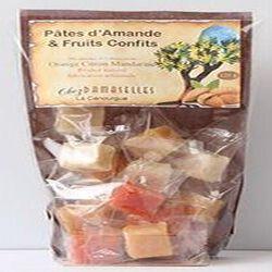 Pâtes d'Amande et fruits confits, Chez Damaselles, 120g