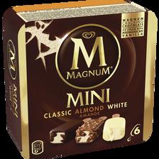 Mini classic amande white MAGNUM, 6 unités, 266g