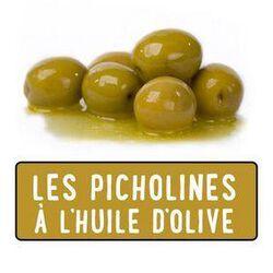OLIVES VERTES FRAICHE  PICHOLINE  200G