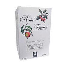 Vin rosé fruité CHATEAU CLAPIER, 5l