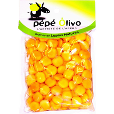 Graines de lupins natures PEPE OLIVO, sachet 200g