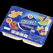 Assortiment de crackers U, coffret de 380g