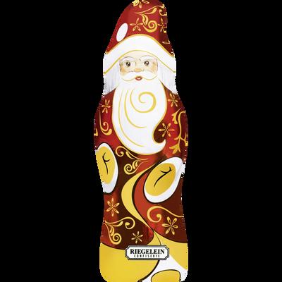 Père Noël sous alu au chocolat au lait 33% cacao RIEGELEIN, 90g