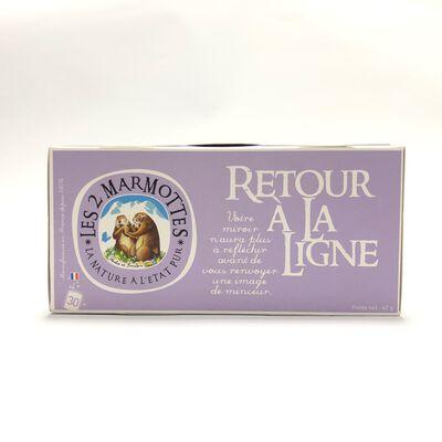 Bouquet  Retour à la ligne , LES 2 MARMOTTES, 30 Sachets