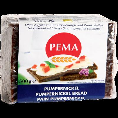 Pain Pumpernickel seigle PEMA, 500g