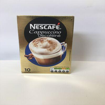 NESTCAFE CAPPUCCINO DECAFEINE 10 STICKS