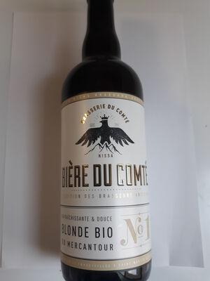 BIERE BLONDE DU COMTÉ 75 CL