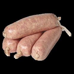 Saucisse pur porc à cuire