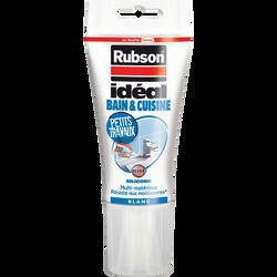 Mastic Idéal salle de bain et cuisine RUBSON, 150ml, blanc