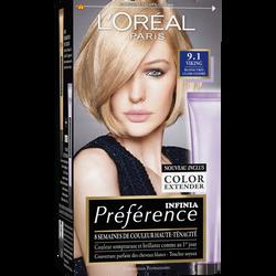 Coloration permanente Récital PREFERENCE, Viking Z blond très clair cendré