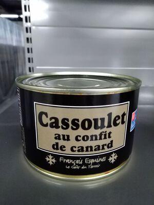 cassoulet confit de canard 840 gr