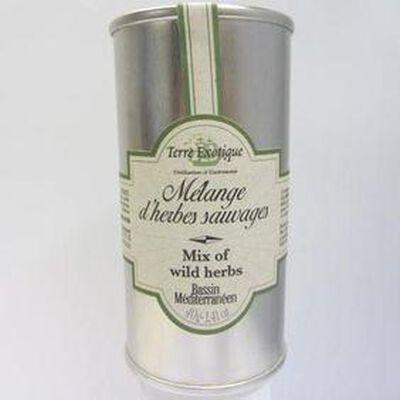 Mélange d'herbes sauvages TERRE EXOTIQUE, 40g
