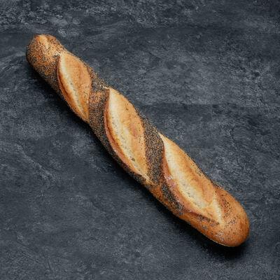 Baguette pavot, 1 pièce, 250g