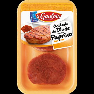 Grillade dinde paprika, LE GAULOIS, France