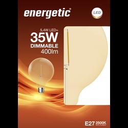 Led déco classique 35w e27 doré ENERGETIC-g210-5,4w-380ml