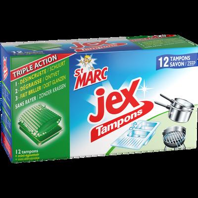 Tampons savons JEX, x12