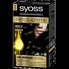 Coloration Oleo Suprême SYOSS, noir intense n°1-10