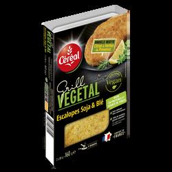 Escalope citron soja et blé GV CEREAL 160g
