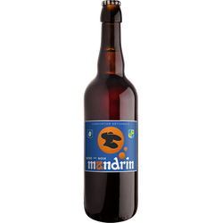 Bière aux noix MANDRIN 5,8°, bouteille 75cl