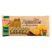 Lay's Chips Paysannes Nature Lay's, 6x27, 5g