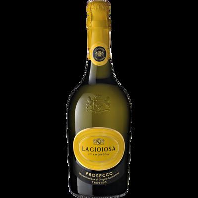 Mousseux Prosecco LA GIOIOSA blanc gold label, 75cl