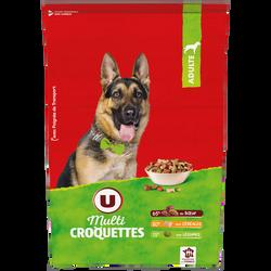 Multicroquettes pour chien b uf, céréales et légumes U, 10kg