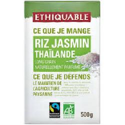 RIZ JASMIN DE THAILANDE BIO 500 G ÉTHIQUABLE