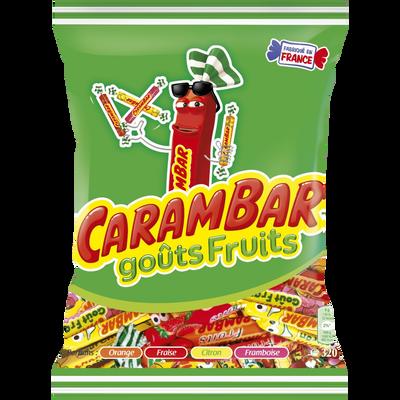 CARAMBAR aux fruits sachet 320g