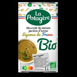 Mouliné d'Antan aux légumes verts bio LA POTAGÈRE, brique de 1 litre