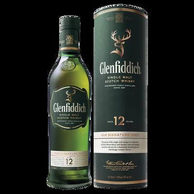 Scotch whisky GLENFIDDISH, 40°, 12 ans d'âge, 70cl sous étui
