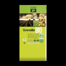 Pomme de terre grenaille Allians, de consommation à chair ferme, BIO,28/35mm, catégorie 2, Normandie, sachet 1kg