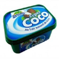 Glace au lait naturel de coco, PARADIS, 1l