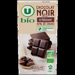 Chocolat patissier Bio U, 200g