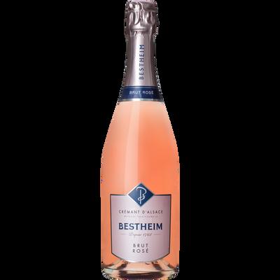 Crémant d'Alsace rosé Bestheim, bouteille de 75cl