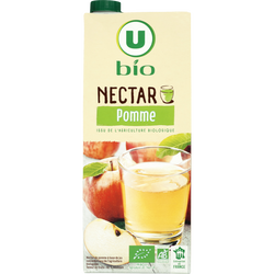 Nectar de pomme Bio U, brique de 1,5l