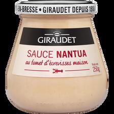 Sauce nantua aux écrevisses GIRAUDET, 250g