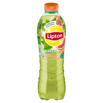 Lipton Boisson Lipton Green Ice Tea Goût Agrumes - Bouteille 1l
