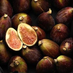 Mini figue séchée avec farine