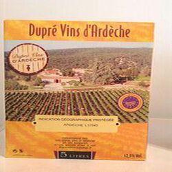 Vin BLANC IGP Ardèche DUPRE 5L