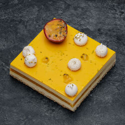 Entremets passion vanille, 6 parts, 1,110kg