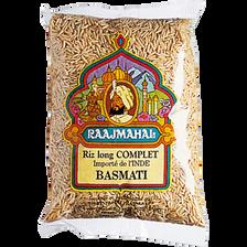 Riz basmati complet RAAJMAHAL, sachet de 500g