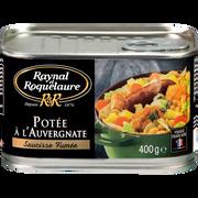 Raynal & Roquelaure Potée À L'auvergnate Saucisses Fumées Raynal Et Roquelaure, Boîte De 400g