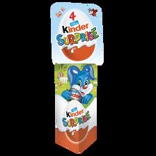 Oeufs surprise KINDER, x4, 80g