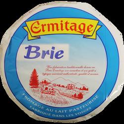 Brie pasteurisé 33% matière grasse ERMITAGE, 800g