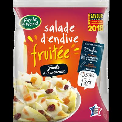 Salade d'endive fruitée, catégorie 1, France, sachet 390g