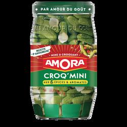 Cornichons mini AMORA, 205g