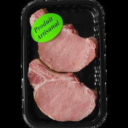 Carré cuit côtes viande pur porc française, 2 unités